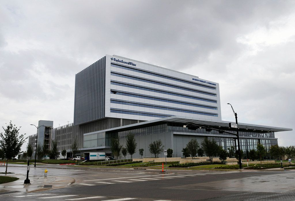 Baylor Scott & White Sports Therapy & Research is part of The Star complex in Frisco.