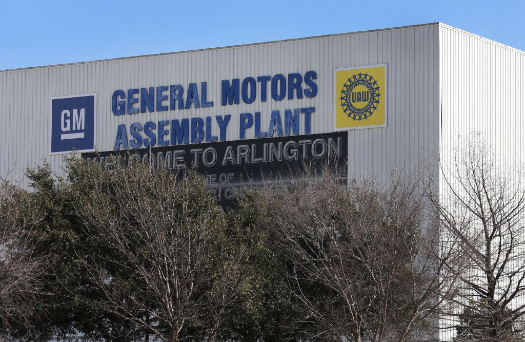 A look at the General Motors Arlington Assembly Plant in Arlington, Texas, photographed on Thursday, February 9, 2017. (Louis DeLuca/The Dallas Morning News)