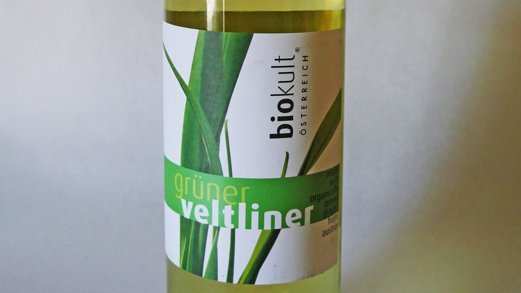 Gruner Veltliner is Austria's best white wine variety, and this one from Biokult is under $15.