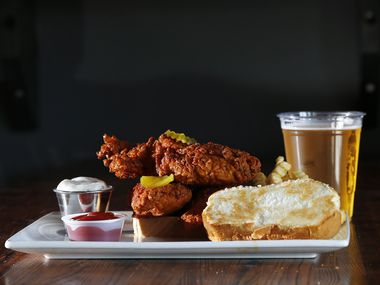 The bar at 3619 Greenville Avenue changed its name to Chirps Chicken and started selling Nashville hot chicken recently.