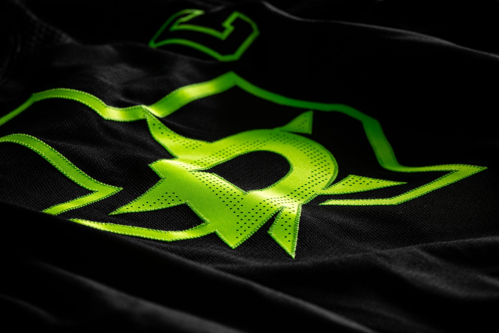 """The Dallas Stars revealed their new third jersey on Wednesday morning, named """"Blackout"""" by the team and using a neon green the team called """"Skyline Green."""""""