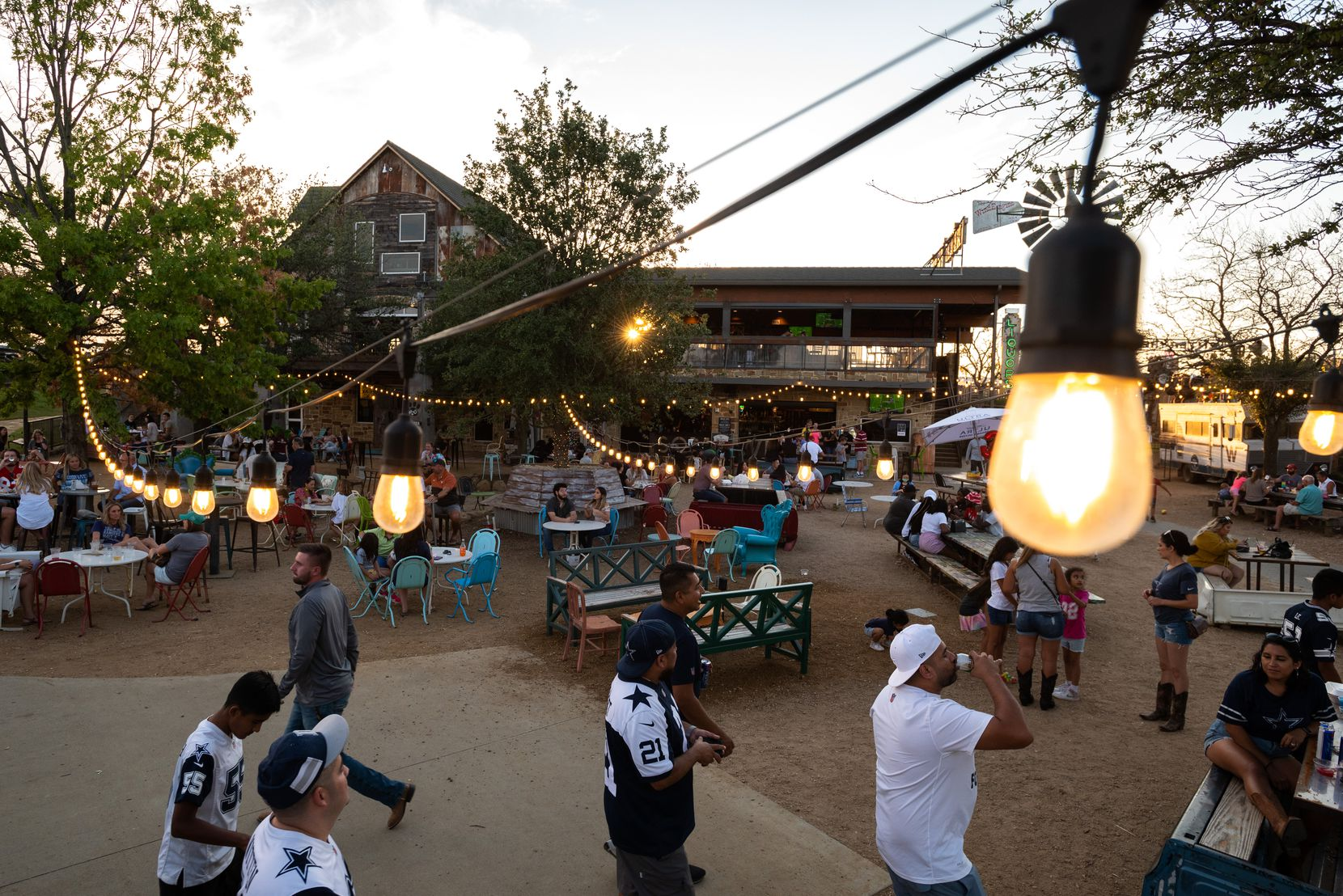 Truck Yard has room for lots of people — a perk during a pandemic.