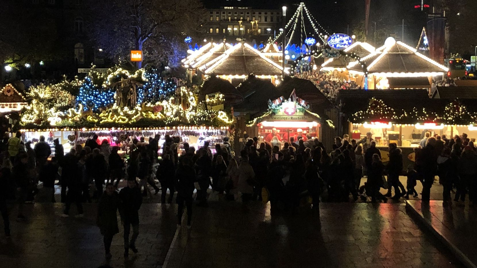 The Christmas market in Stuttgart attracts around 3.6 million visitors annually, making it among the largest in Germany.