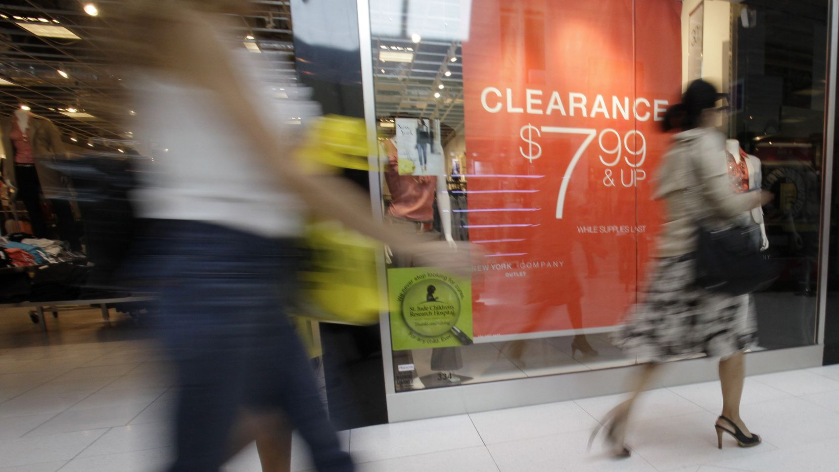 File photo of a New York & Company store in Miami. The retailer is owned by RTW Retailwinds, which filed for bankruptcy on July 13, 2020, and said it may close its stores.