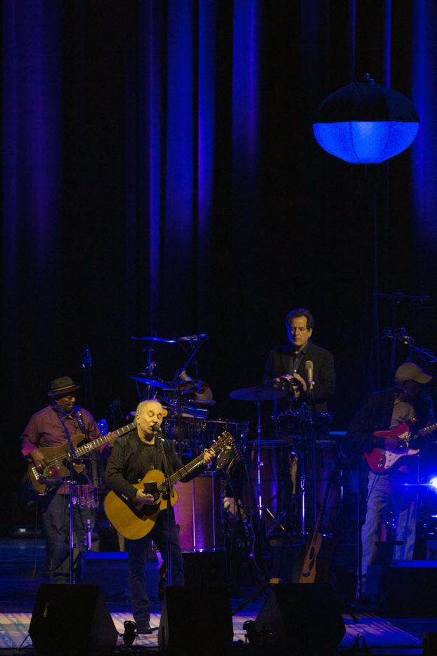 Paul Simon performs at Winspear Opera House in Dallas, Texas, Sunday, May 8, 2016. (Allison Slomowitz/ Special Contributor)
