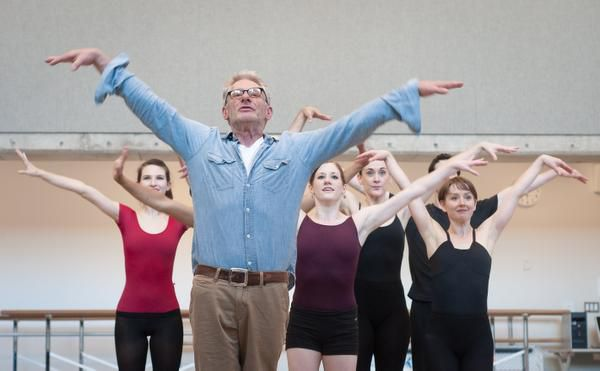 Bruce Wood rehearsed with members of the Bruce Wood Dance Project in 2011.