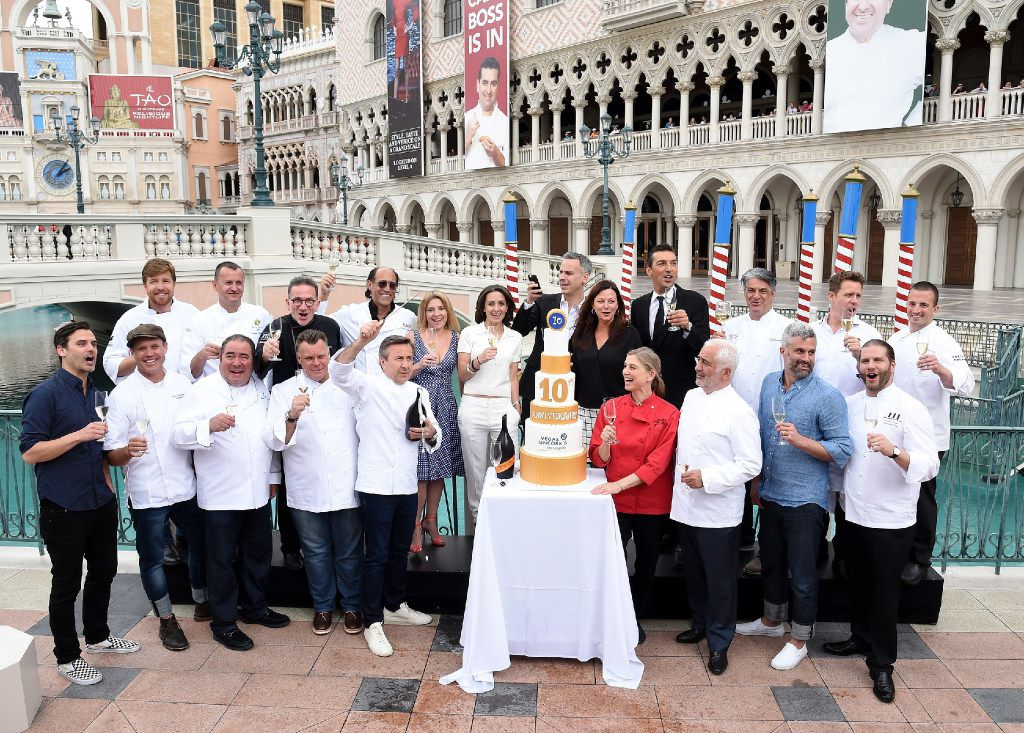 You'll have a chance for some face time with world-famous chefs during Vegas Uncork'd by Bon Appetit. Some of the chefs celebrated during the 2016 event.