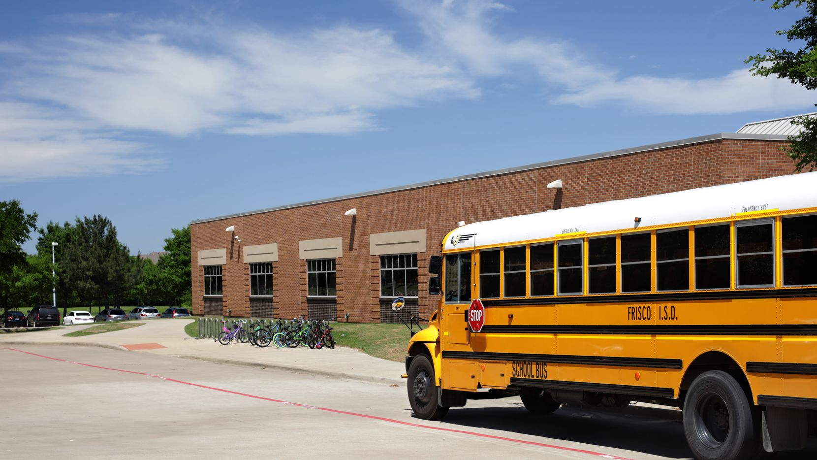 Frisco school officials are increasing campus security with bullet-proof glass, upgraded cameras and other initiatives.