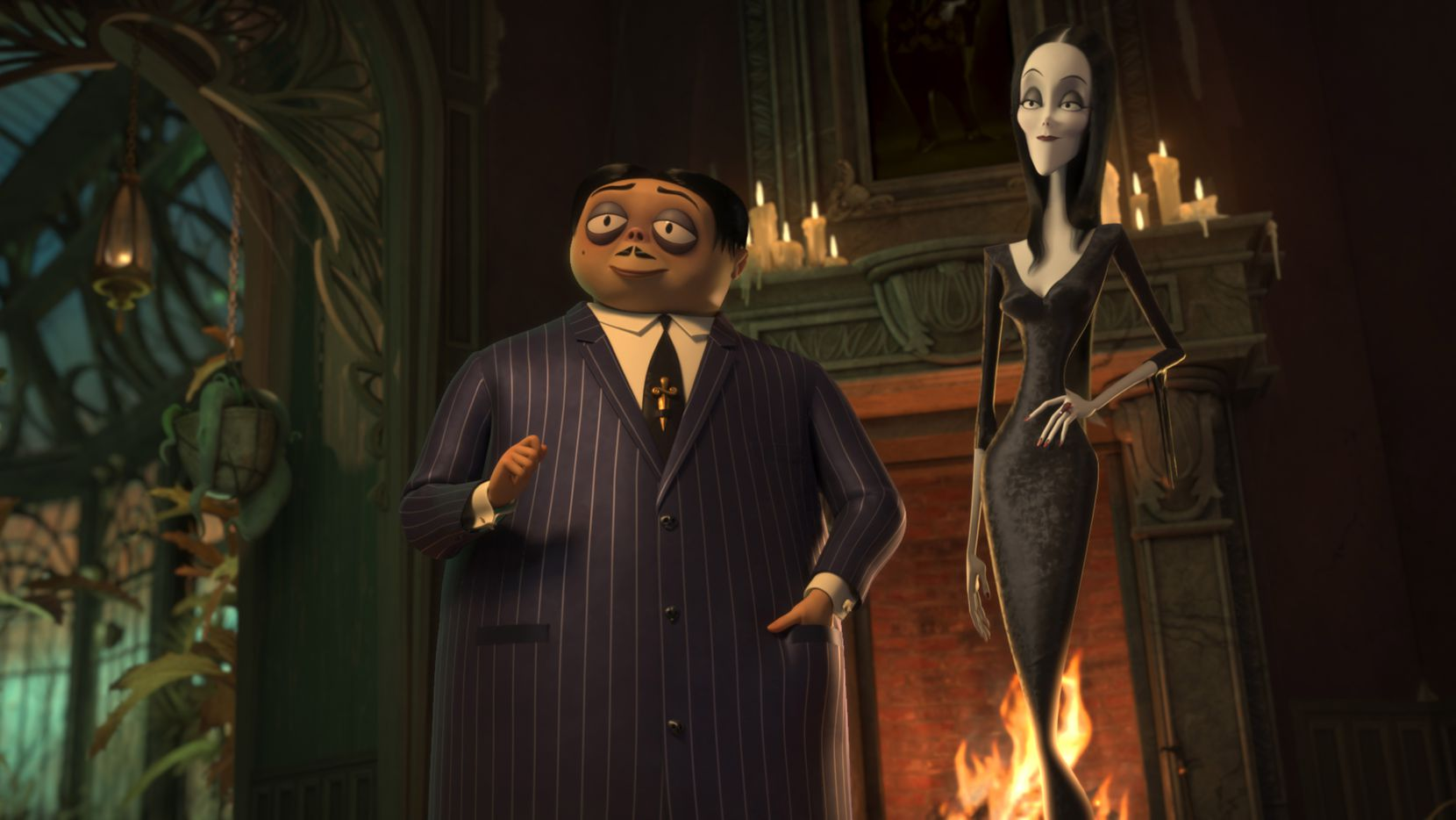 "The 2019 film ""The Addams Family"" will be shown at multiple Cinemark theaters as part of a promotion called Fright Nights."