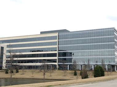 With the newest lease the Offices Two at Frisco Station building on Warren Parkway  is more than two thirds leased.
