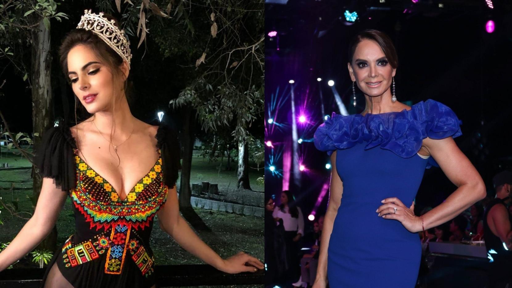 Sofía Aragón acusa a Lupita Jones de violencia doméstica, mientras que la ex Miss Universo de 1991 dice que la conductora de TV Azteca solo abusó de su plataforma.