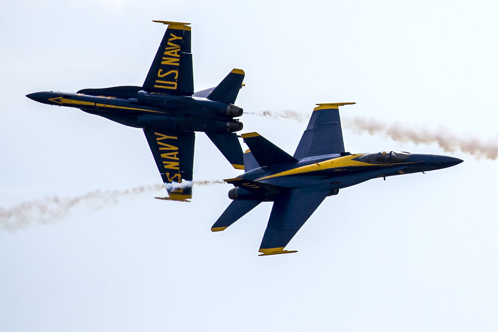 The U.S. Navy's Blue Angels return to the Bell Fort Worth Alliance Air Show from Oct. 19 through Oct. 20.