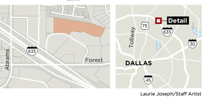 The Urban Commons neighborhood will be located near Forest and Abrams in Northeast Dallas.