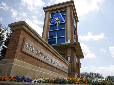 University of Texas Arlington on April 4, 2019 in Arlington, Texas.