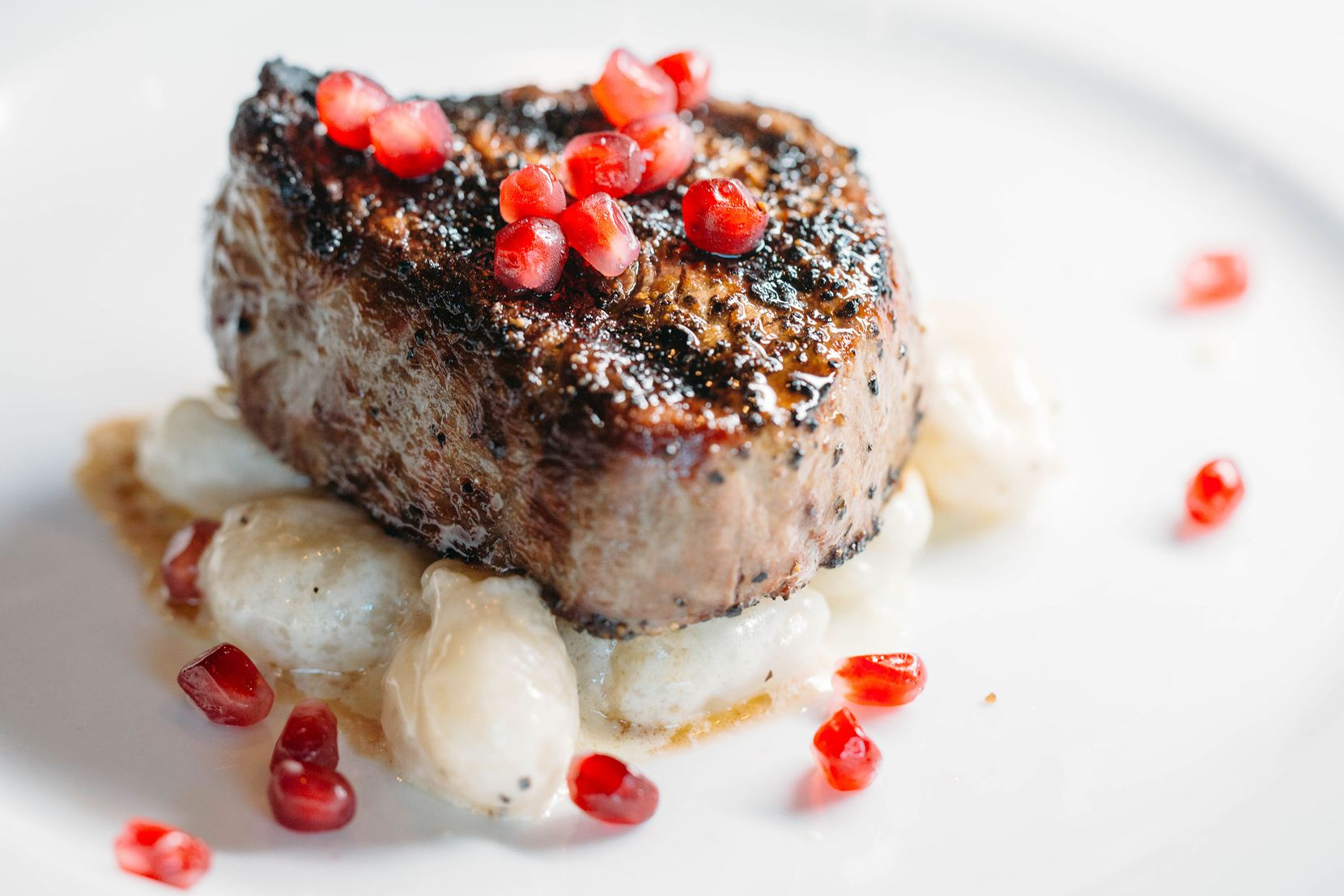 Gorji's Father's Day takeout menu includes a 6-ounce prime beef tenderloin with gnocchi gorgonzola.