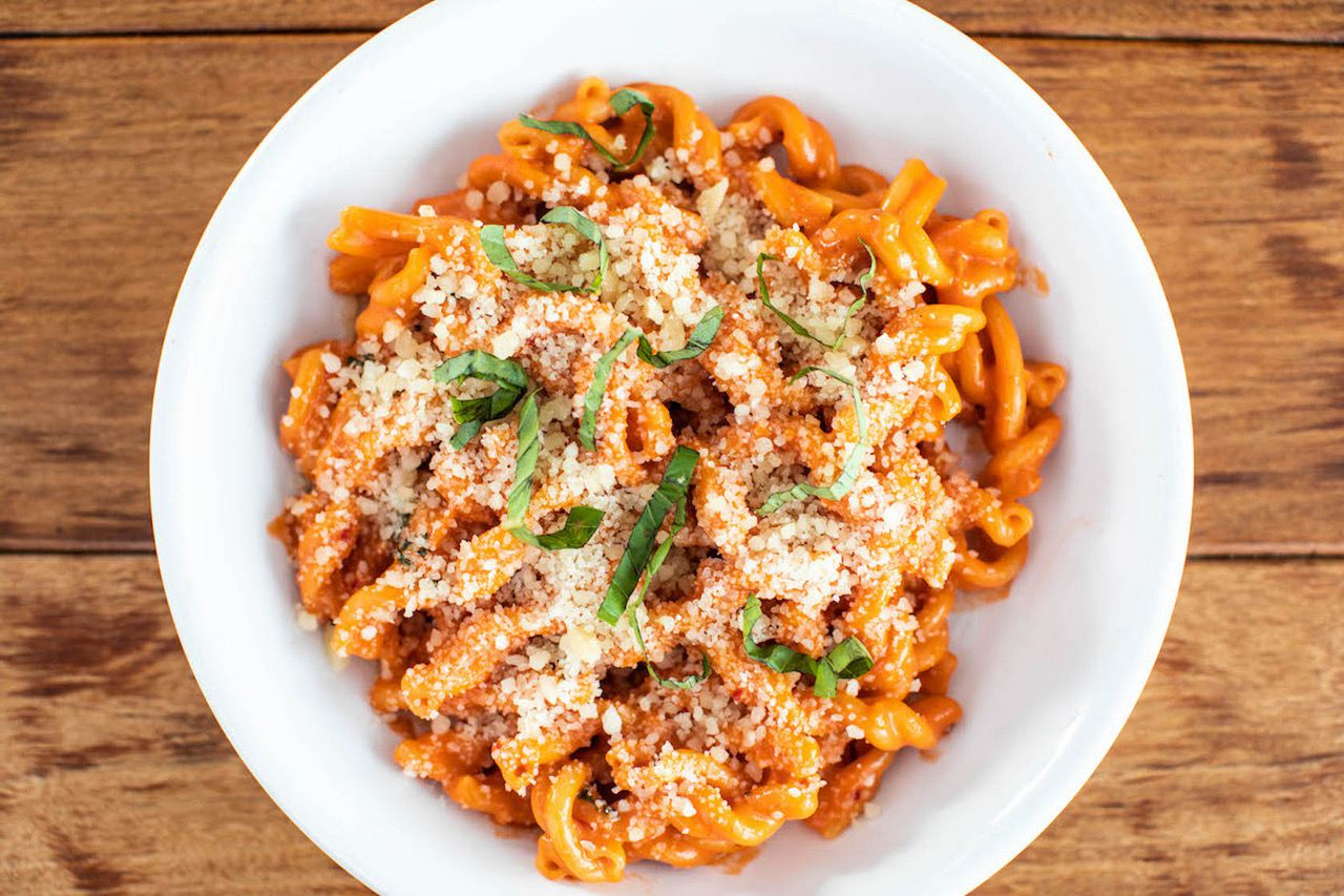 Il Bracco will offer spicy gemelli pasta for $30 as an optional addition to its 2020 Easter package.