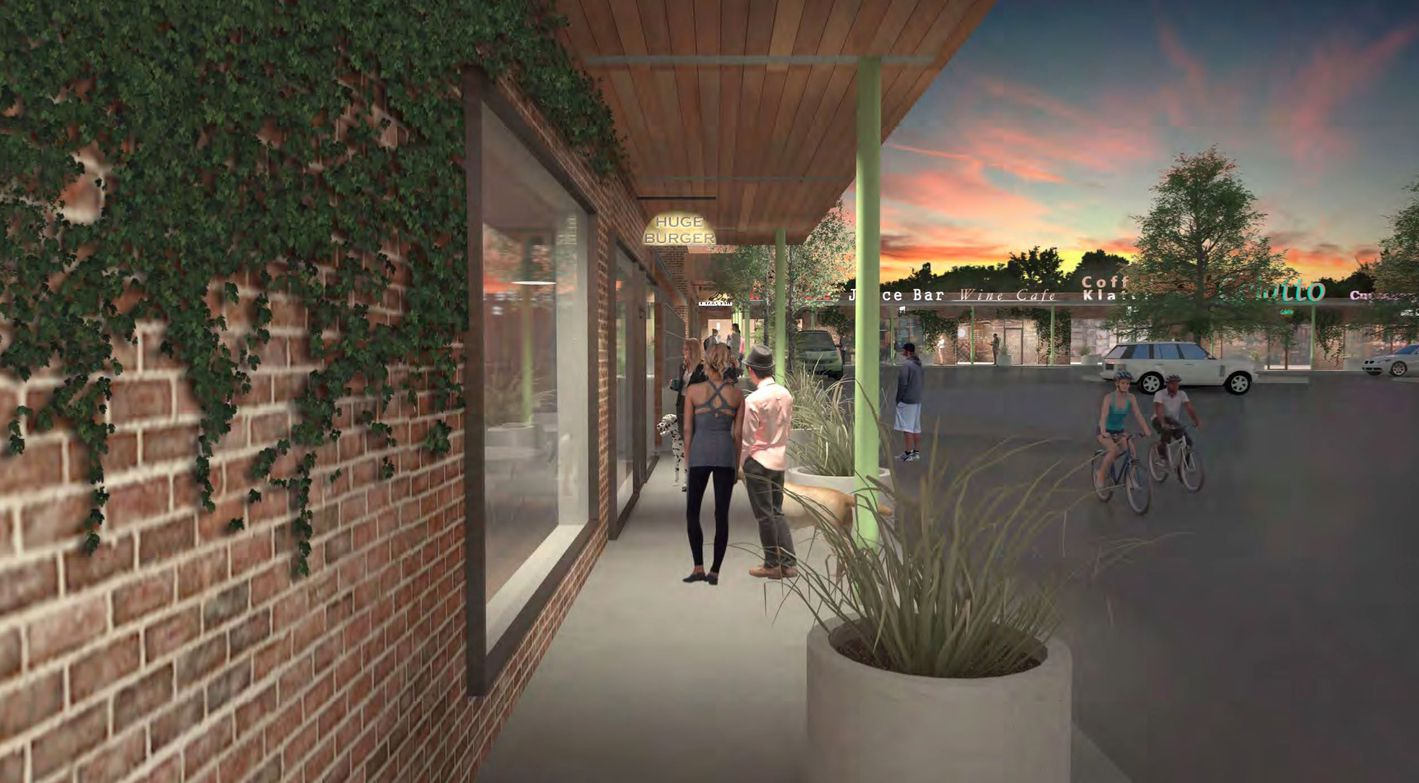 The 50-year-old Lakeridge shopping center in Northeast Dallas is being renovated.