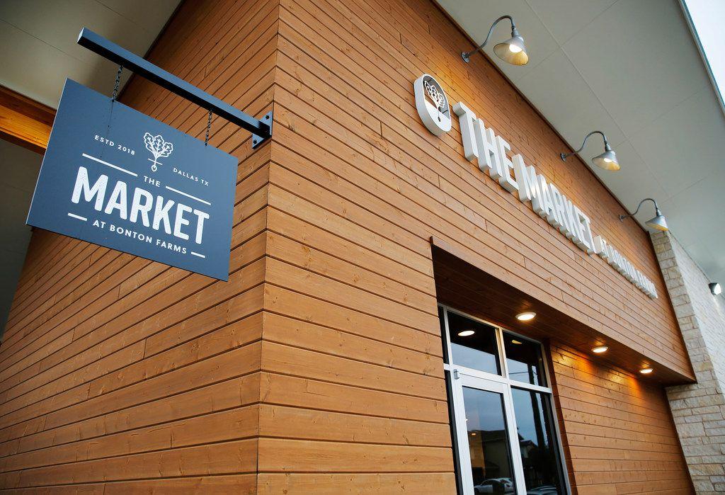 The Market at Bonton Farms in Dallas on Wednesday, Nov. 7, 2018. The Market at Bonton Farms is gearing up to open soon.