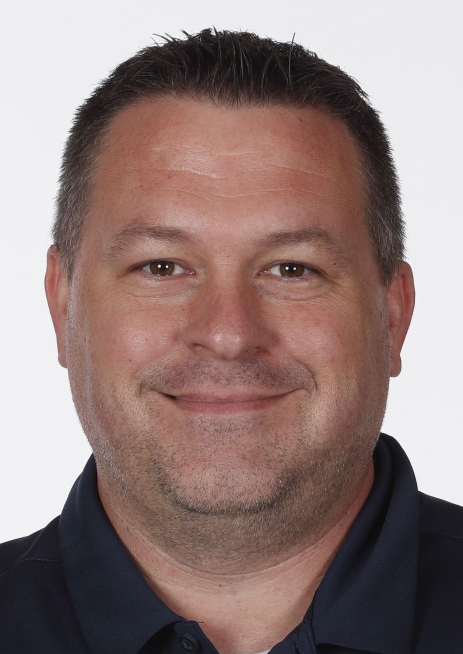 Mavericks equipment manager Kory Johnson, who is in his second year with Mavericks and his 20th NBA season. He previously worked for Pelicans franchise.