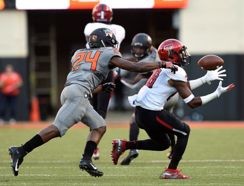Bowman leads Texas Tech past No. 15 Oklahoma State, 41-17