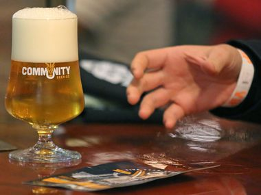 Community Beer Co. is brewing a special cream ale that our members get to try first.
