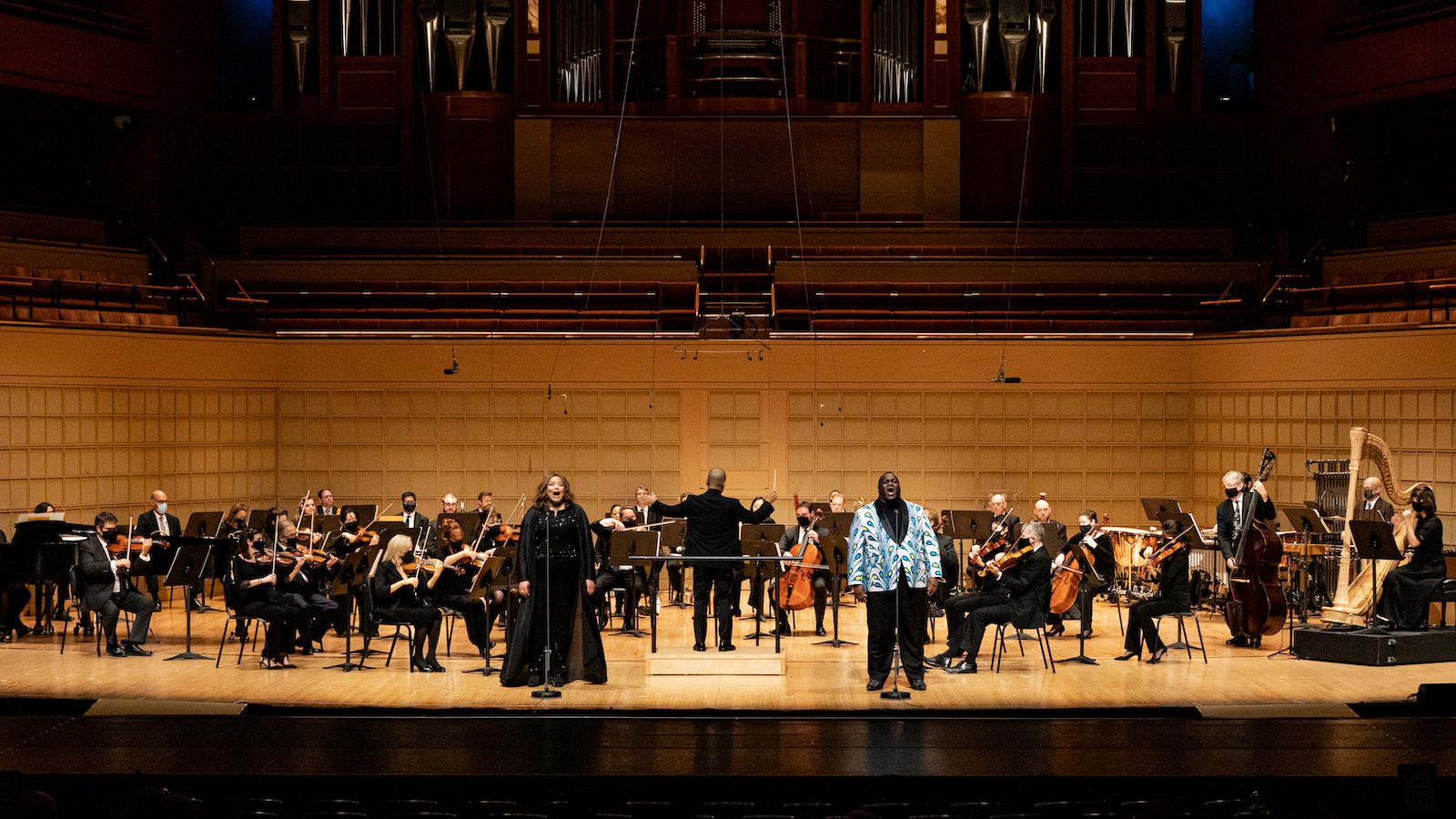 On Nov. 11, the DSO and Dallas Black Dance Theatre staged the Unity Concert in support of Project Unity, honoring those who have lost their lives to racial violence and injustice.
