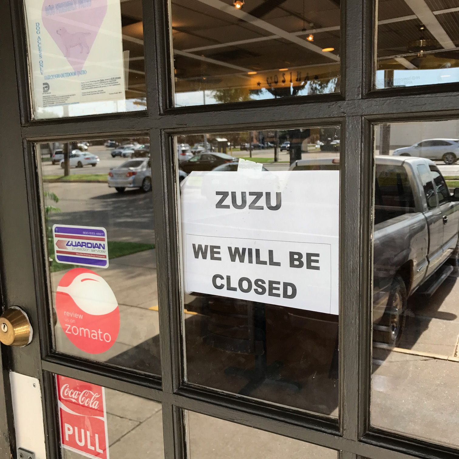 Zuzu in Dallas has closed as of July 23.