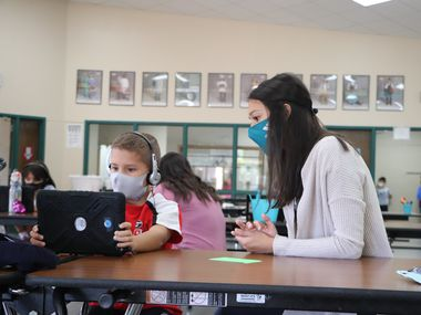 YMCA Learning Academy is an option for working parents whose children are learning virtually.