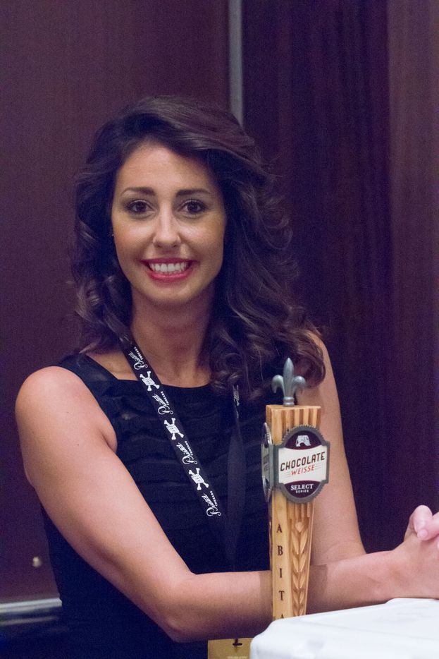 NTX Beer Week held its Second Annual Brewers Ball at the Renaissance Dallas Hotel on November 13, 2015. Morgan from Albita.
