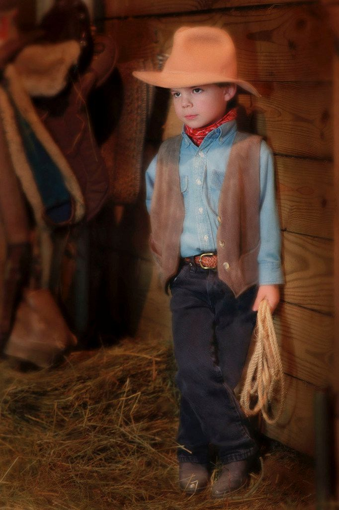 A 5-year-old Charles Scudder poses for a portrait at a horse ranch in Cincinnati, Ohio. Scudder, The Dallas Morning News Texana writer, moved to Texas when he was 6 years old.