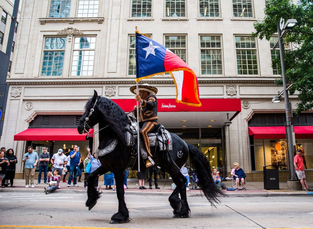 Last year's parade could be the last one winding through downtown Dallas for a while.