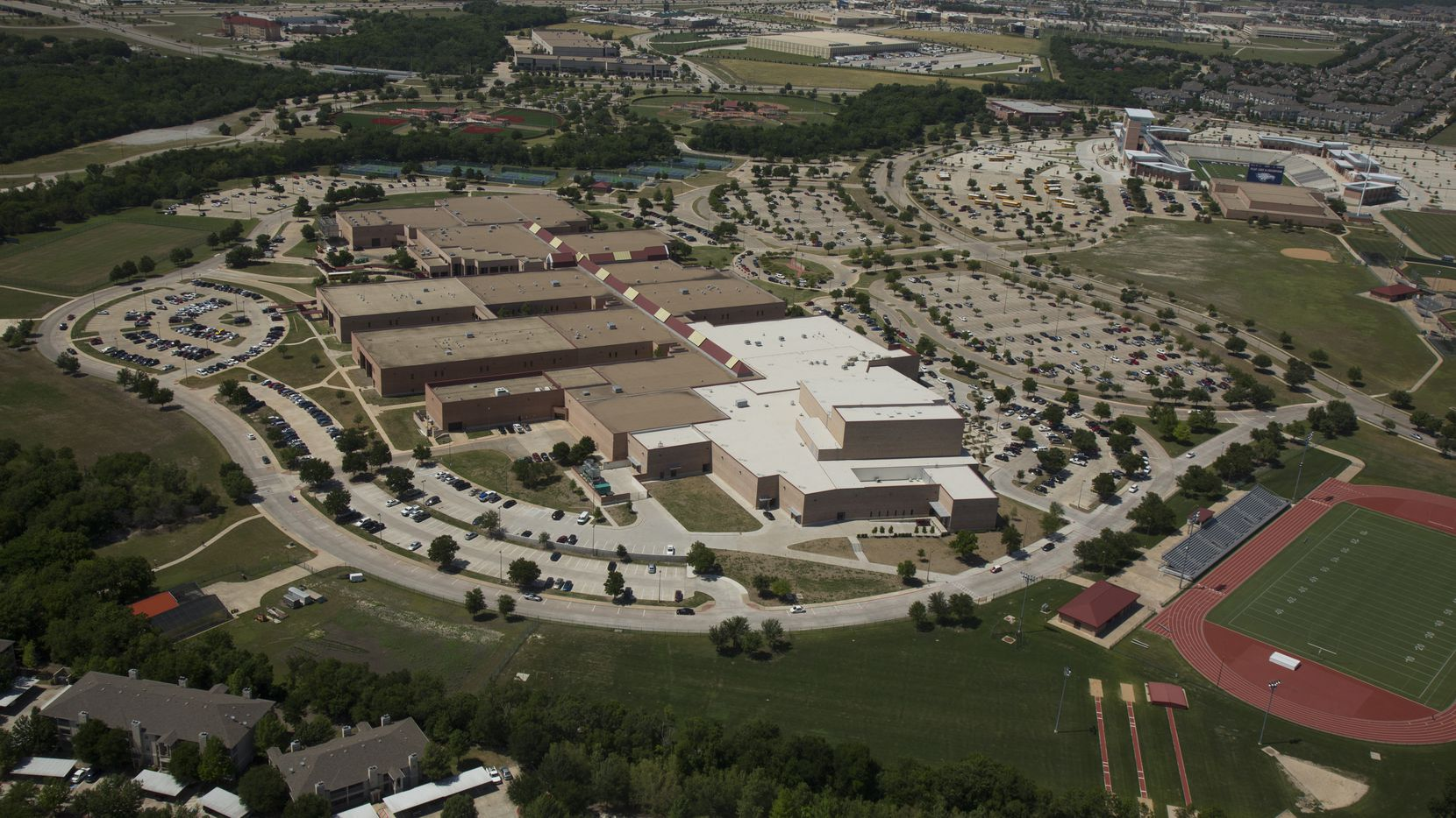 Allen High School reports the most active COVID-19 cases at 15.