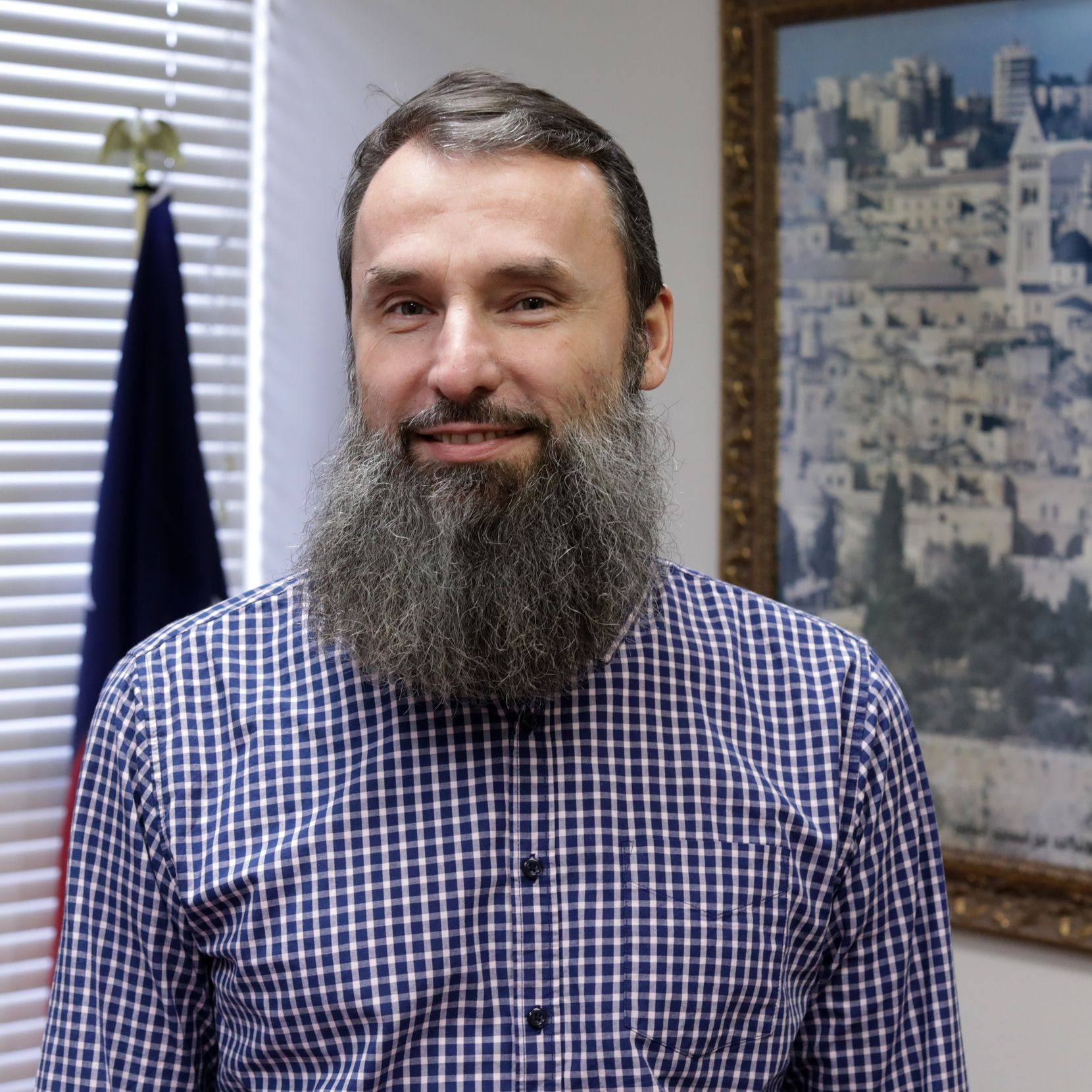 Imam Shpendim Nadzaku of the Islamic Association of North Texas says he was heartened when Christian faith leaders stood up for his mosque in the face of gun-toting protesters.