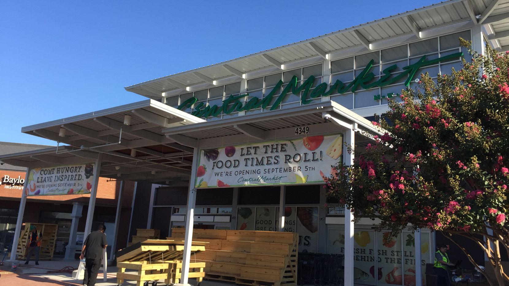 Central Market opens at 4349 W. Northwest Highway in Dallas on Sept. 5, 2018.