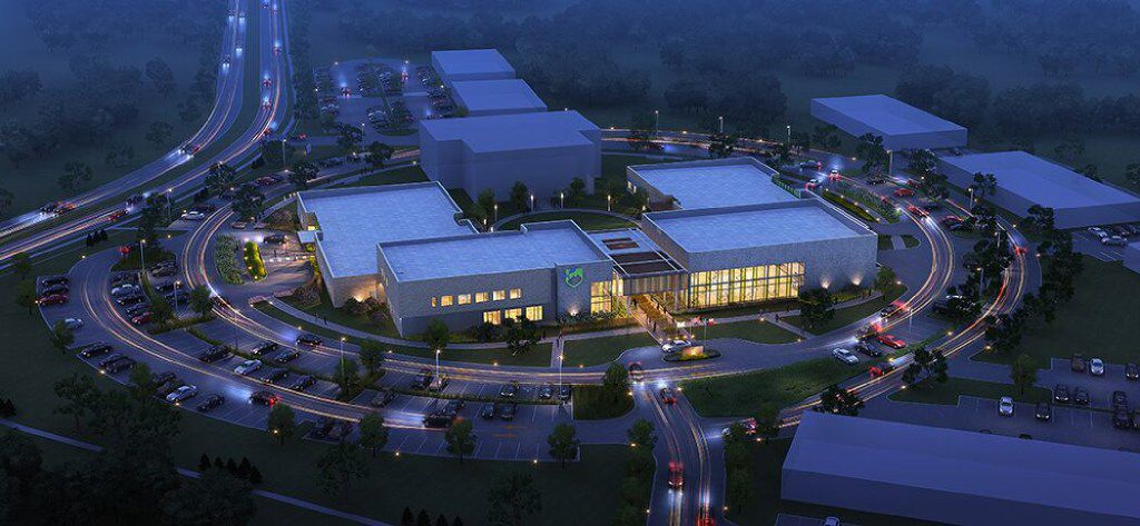 My Possibilities broke ground last month on the educational and vocational training center seen here in an artist's rendering. The facility will be on 20 acres in Plano and will serve adults with cognitive disabilities.