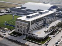 Dallas Cowboys' Star in Frisco project is at the Dallas North Tollway and Warren Parkway.