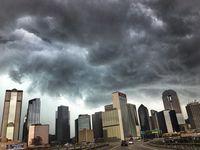Se anticipa lluvias y tormentas todo el lunes, incluso con vientos y granizo.