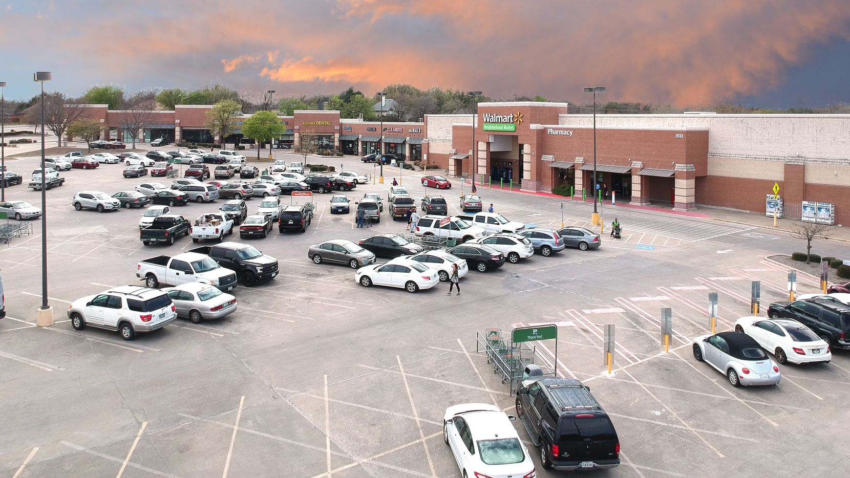 The Shiloh Crossing  community retail center is at the northwest corner of Spring Creek Parkway and Park Boulevard in Plano