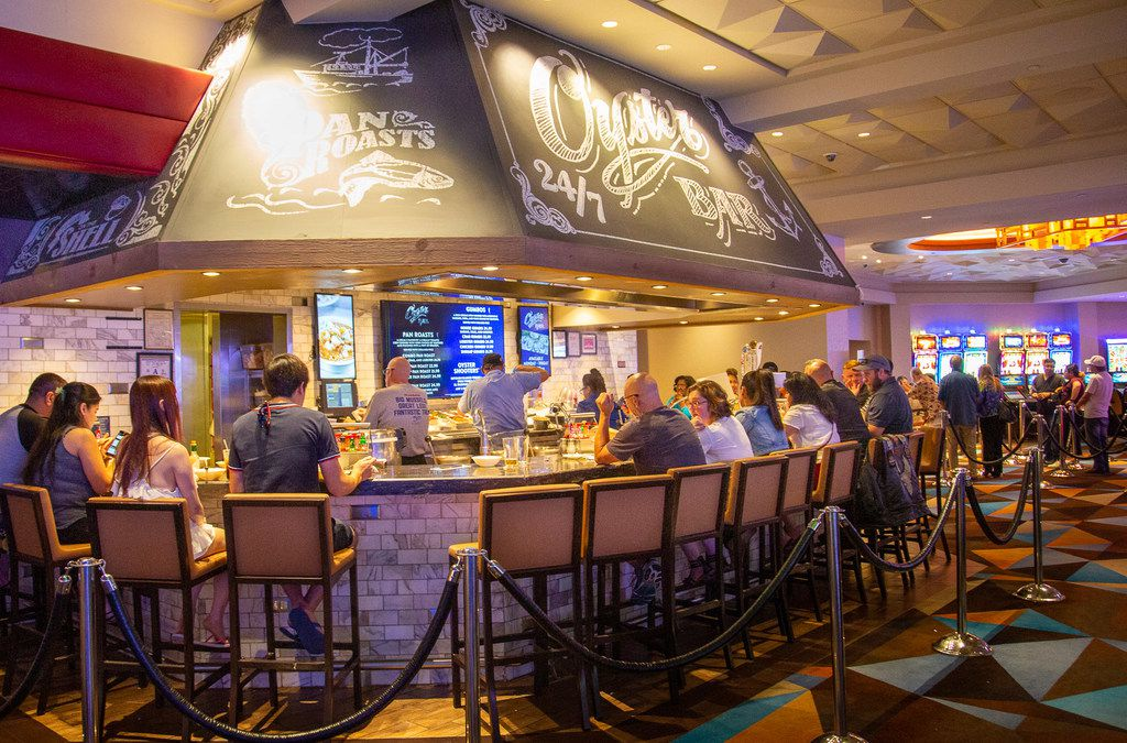 The Oyster Bar at Palace Station is a culinary beacon for locals and visitors alike.