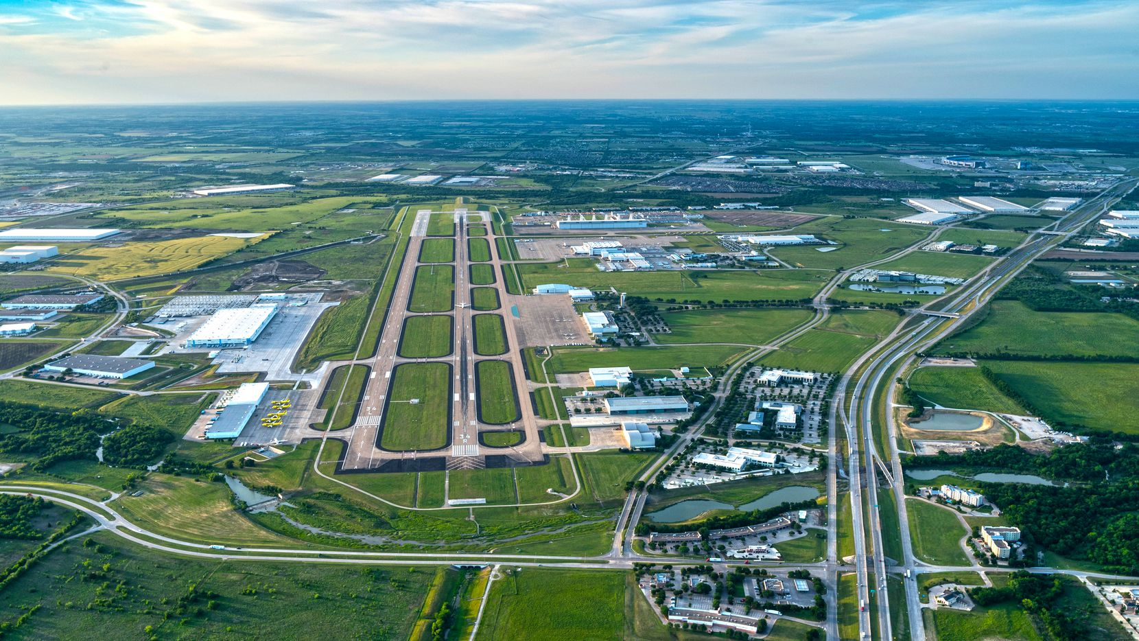 The 27,000-acre AllianceTexas development north of Fort Worth is one of the Dallas-Fort Worth area's largest warehouse and distribution markets.