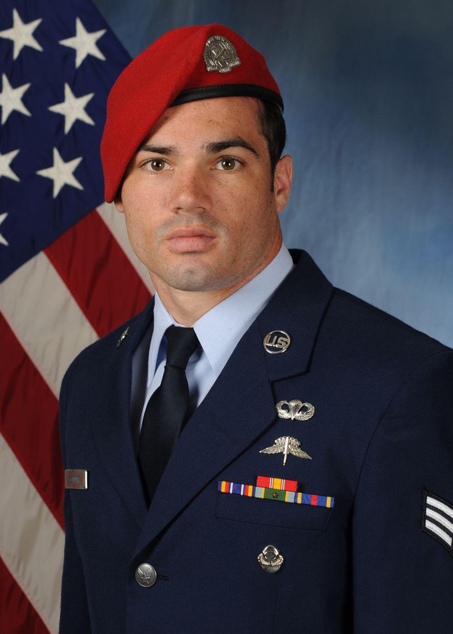 U.S. Air Force Staff Sgt. Cole Condiff, Special Tactics combat controller.