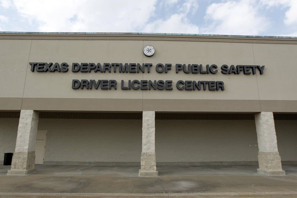 The DPS drivers' license mega center at 4445 Saturn Road in Garland, pictured on October 12, 2012.