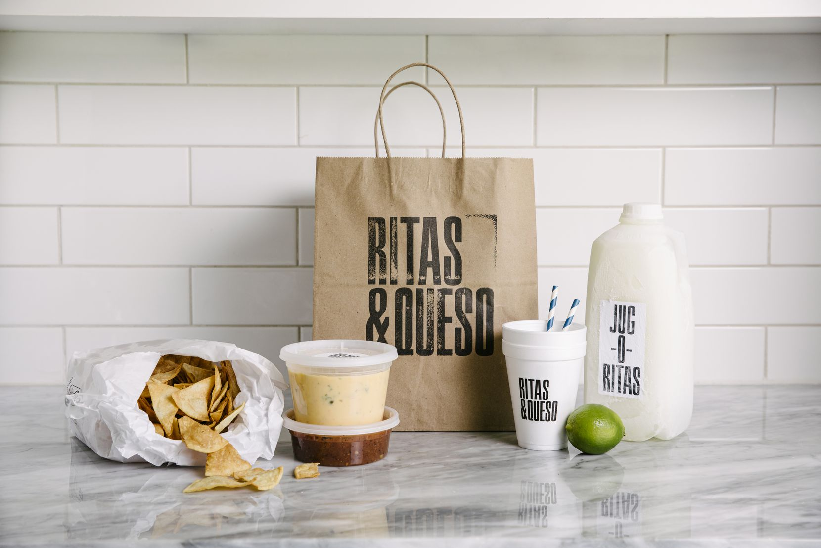 Ritas and Queso, which started as a pop-up, serves queso and margaritas to go.