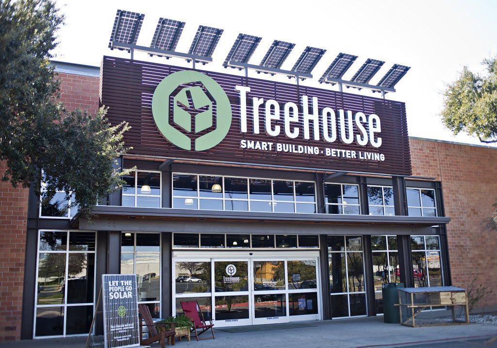 The TreeHouse in Austin (above) shut down over the summer. The company wouldn't say when the Dallas and Plano stores would close.