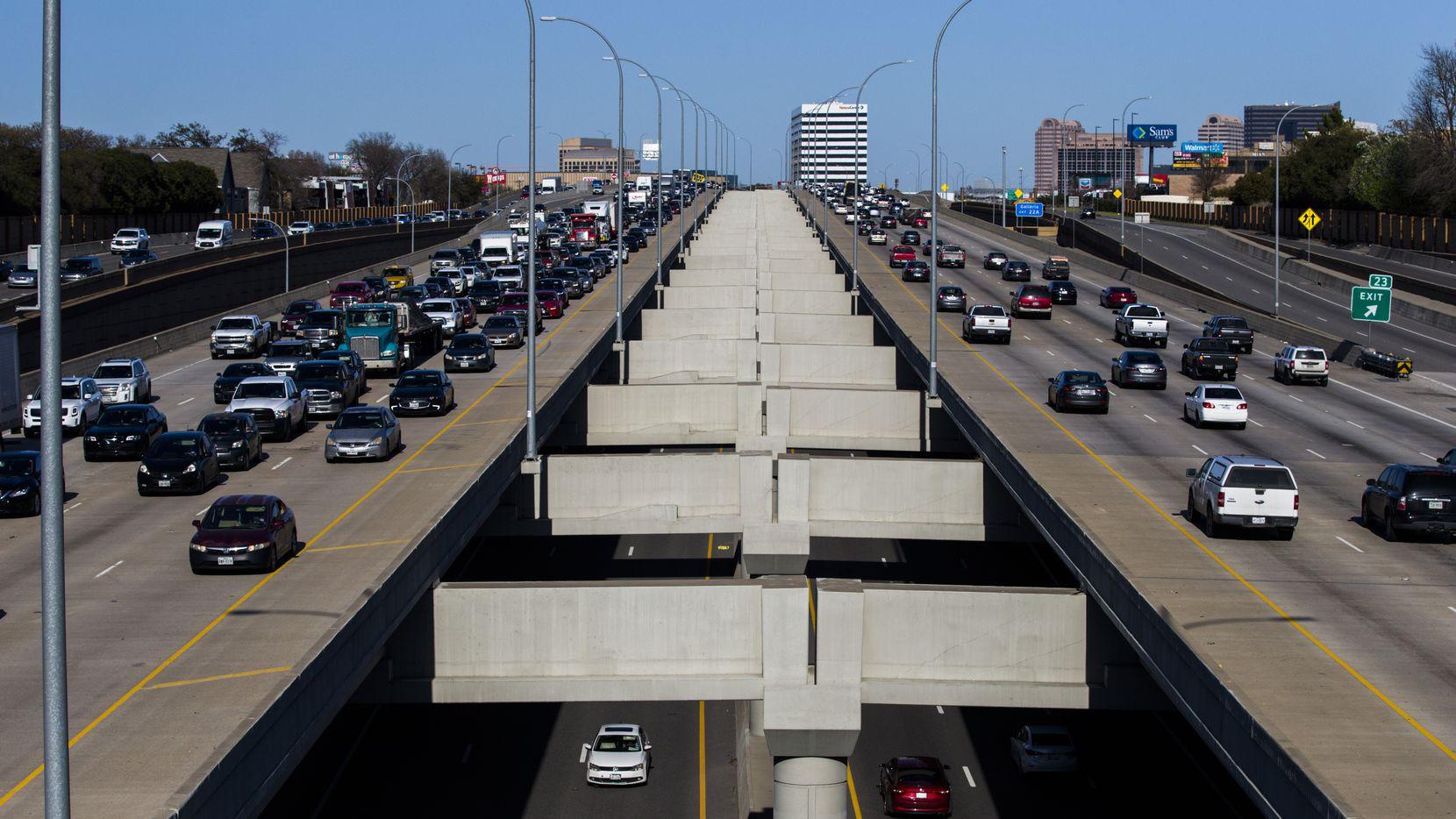 La I-635 continúa con arreglos en el este de la ciudad. Estos trabajos obligarán a cierres en partes de Dallas, Garland y Mesquite