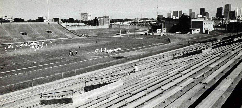Dallas' P. C. Cobb Stadium opened in 1939.