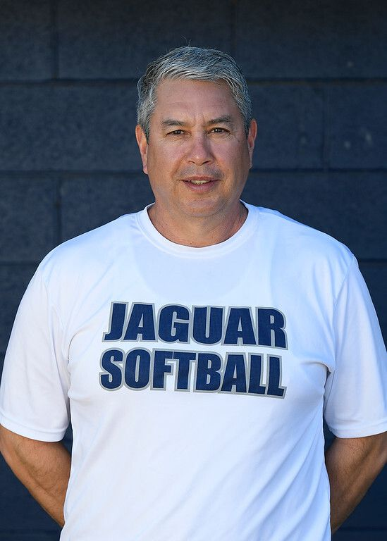 Flower Mound softball coach Mark Larriba