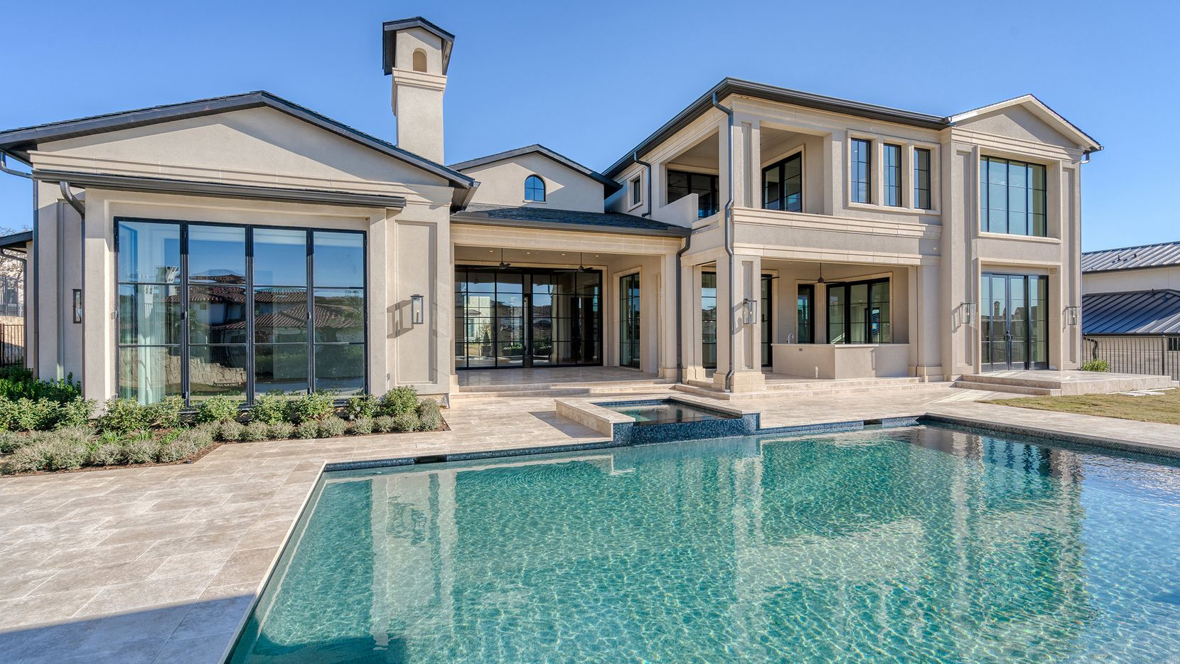 The Allman firm recently sold the six-bedroom residence at 2017 Valencia Cove in Westlake.