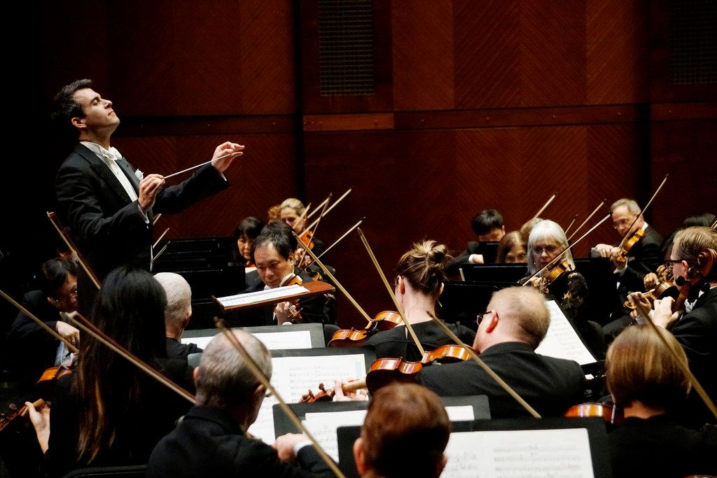 Guest conductor Ward Stare led the Fort Worth Symphony Orchestra at Bass Performance Hall in Fort Worth on Friday, March 16, 2018.