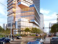 Architect Pickard Chilton designed the 27-story tower for the block at McKInney and Maple avenues.